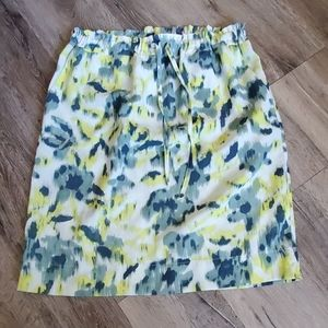 Joe Fresh Colorful Drawstring Skirt